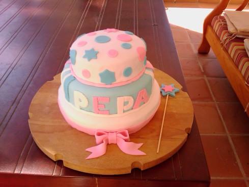 Mi primera tarta fondant Chiclana - Cádiz