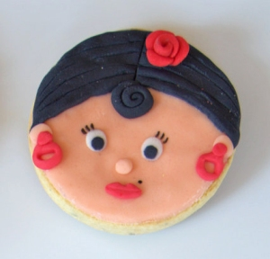 Galleta fondant gitana