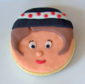Galleta fondant gitano