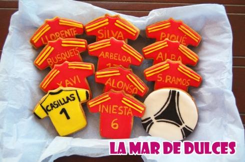 Cesta de galletas de la Eurocopa