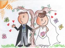 Invitación de boda de Ana y José Antonio