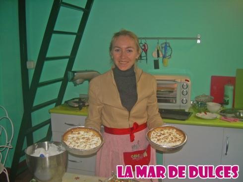 Taller de tarta de  limón con merengue