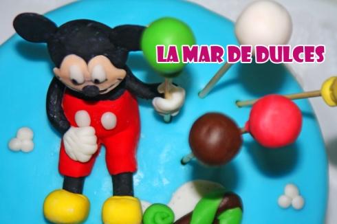 Tarta fondant Mickey Mouse Sevilla