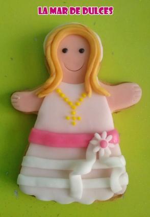 Galletas decoradas para Comunión de niña Sevilla