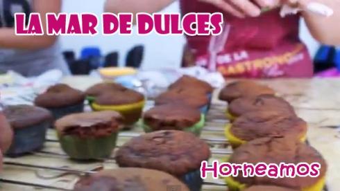 Horneamos los cupcakes