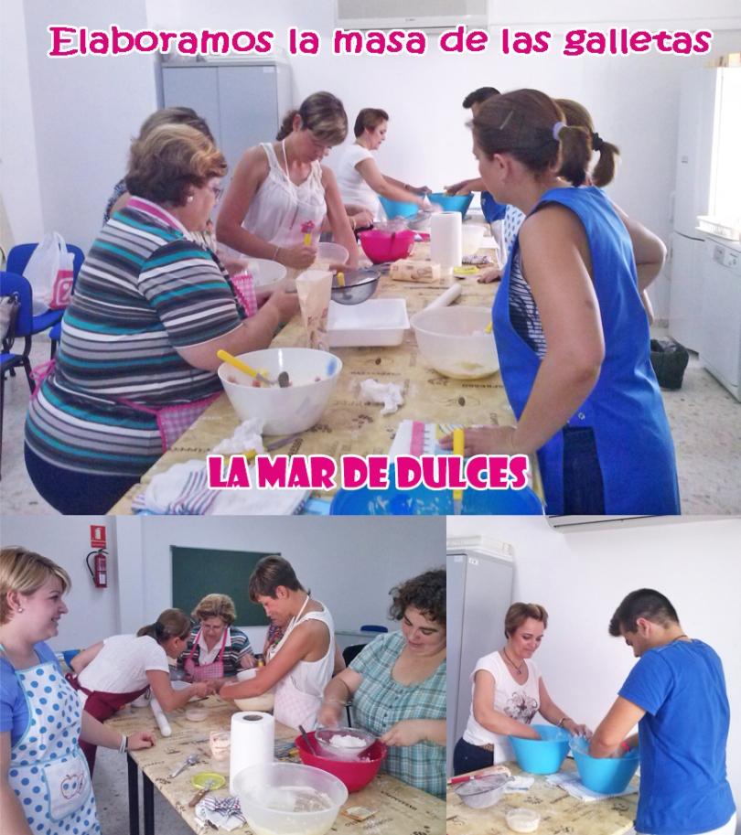 Elaboración de la masa de las galletas