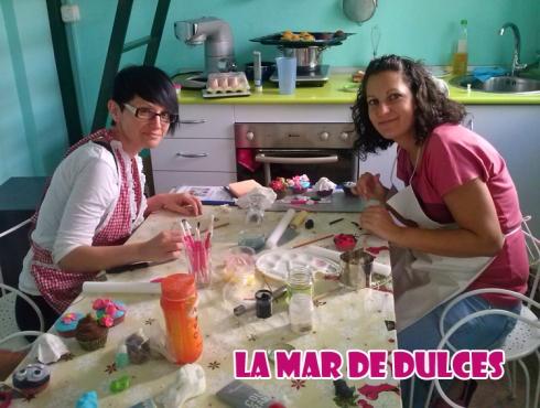Taller de decoración de cupcakes Sevilla
