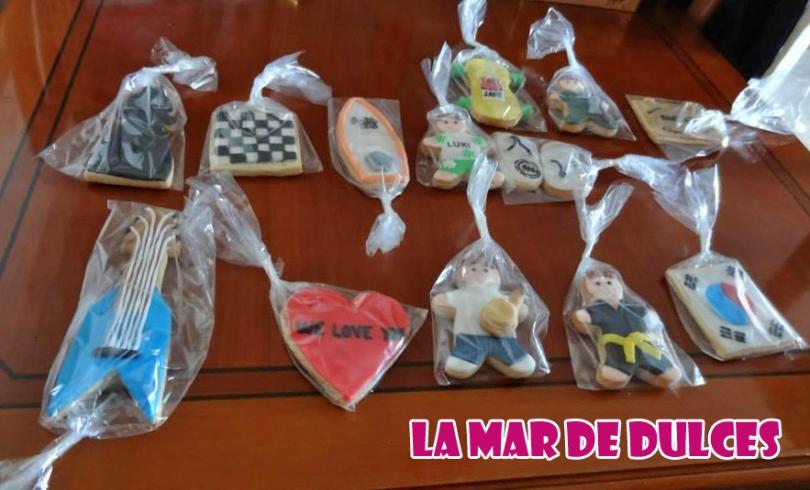 Cesta de galletas variadas