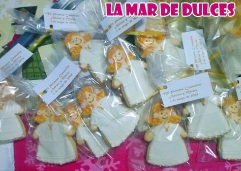 Galletas decoradas para comunión Sevilla