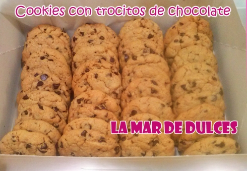 Cookies con trocitos de chocolate