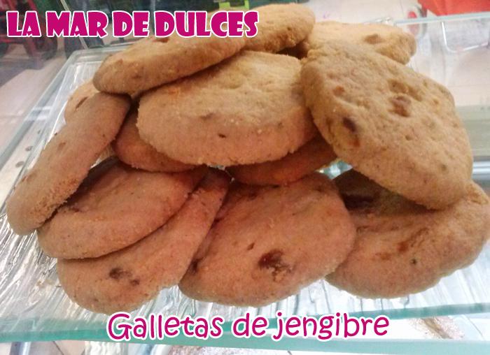 Galletas De Jengibre Dulces Artesanales Sevilla Comida