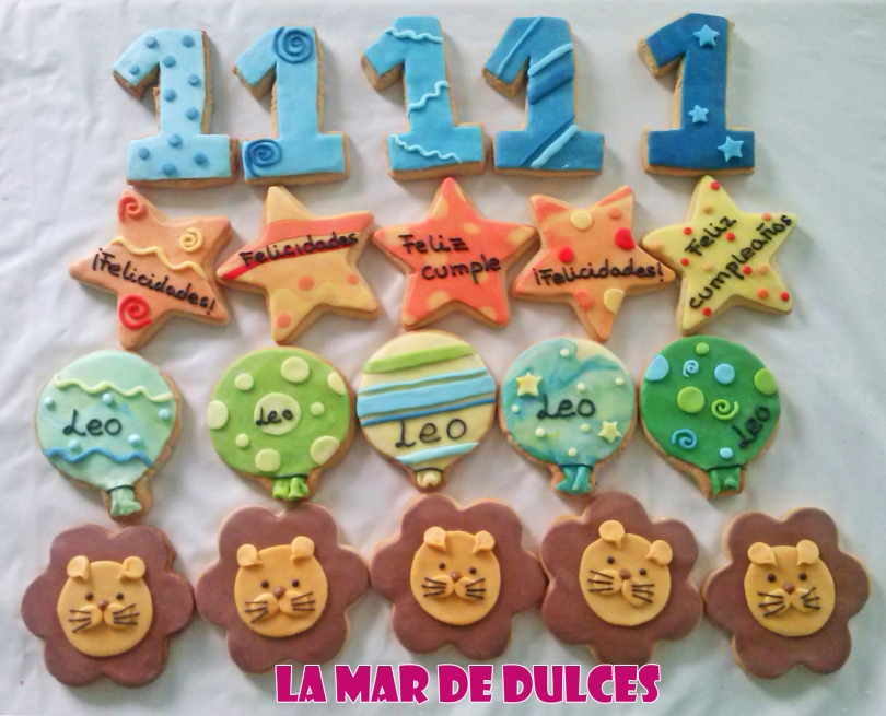Galletas decoradas de globos Sevilla