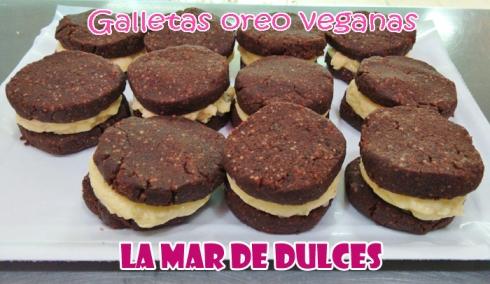 Galletas Oreo veganas - sin huevo ni leche, con harina de arroz
