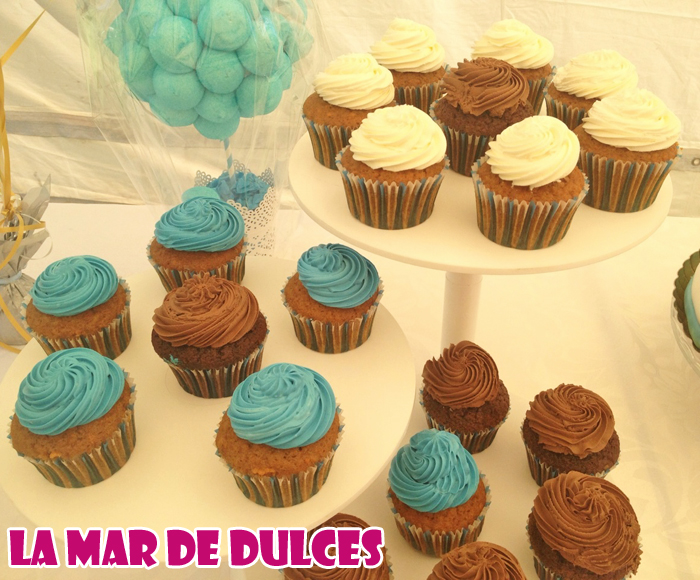 Cupcakes decorados para Comunión Sevilla