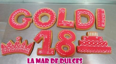 Galletas decoradas para cumpleaños Sevilla