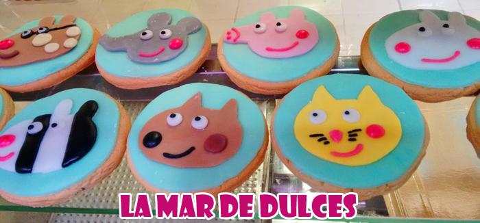 Galletas decoradas de Peppa Pig Sevilla