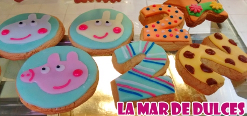 Galletas decoradas de Peppa Pig Sevilla
