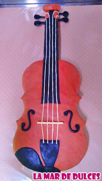 Tarta fondant de viola Sevilla